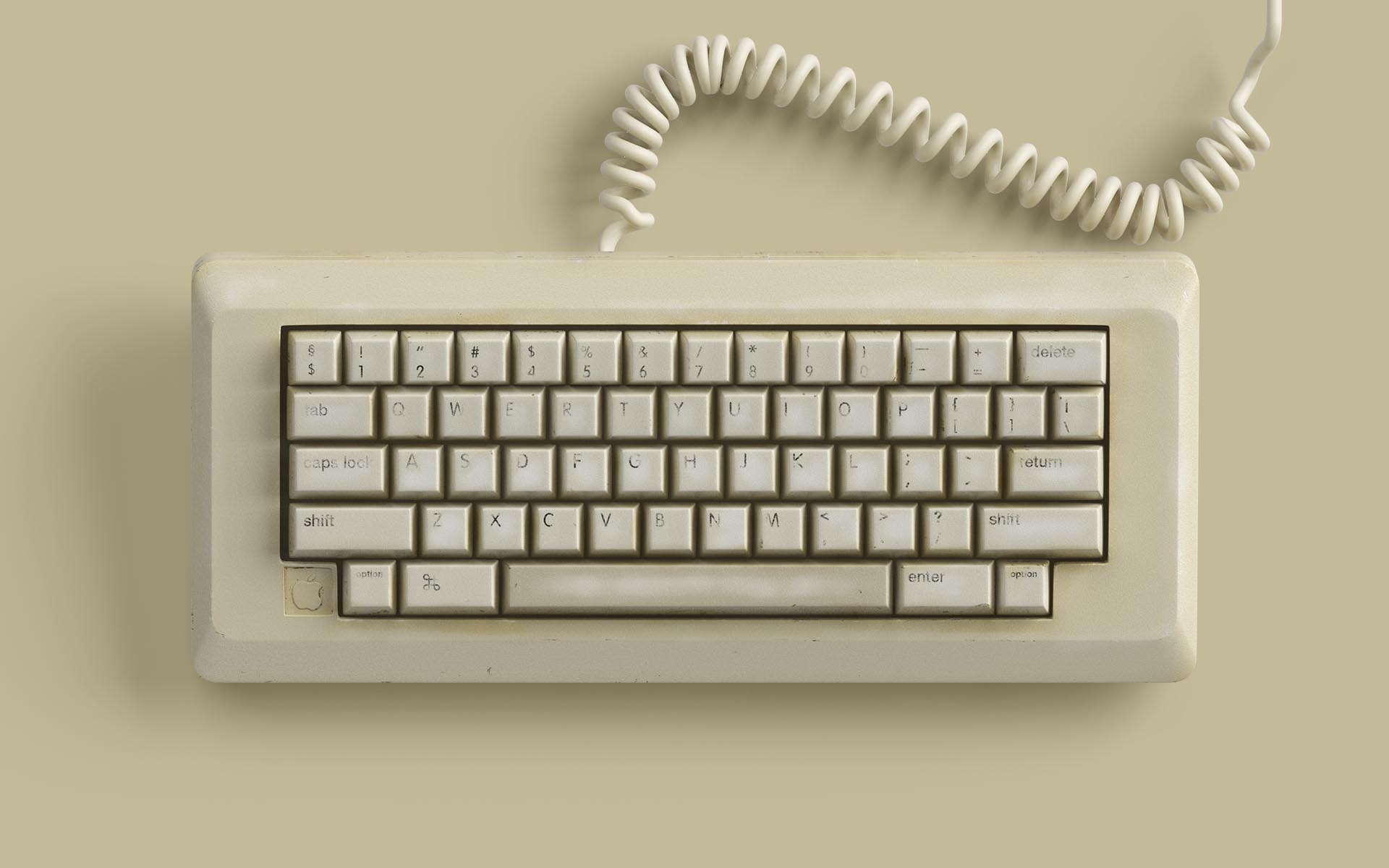 Classic Keyboard 3D